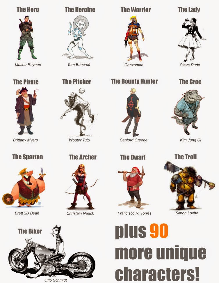 06 Characters-21-Draw-100-Artist-to-Teach-you-how-to-Draw-www-designstack-co