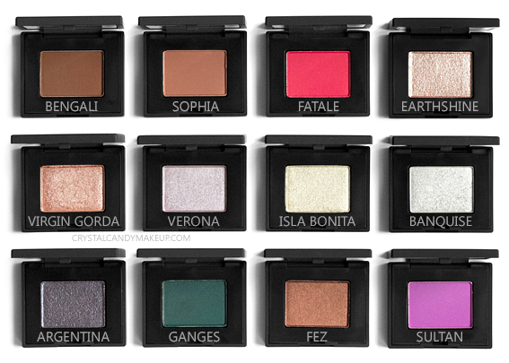 NARS Single Eyeshadows New Formula 2018 Review Shades