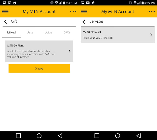MyMTN App: Free 4G Internet on Sign Up and More