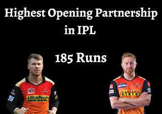 IPL इतिहास की टॉप-5 सबसे बड़ी ओपनिंग पार्टनरशिप   Highest Opening Partnership in IPL
