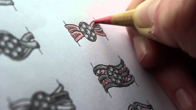 The Basics of Drawing Jewelry  Design