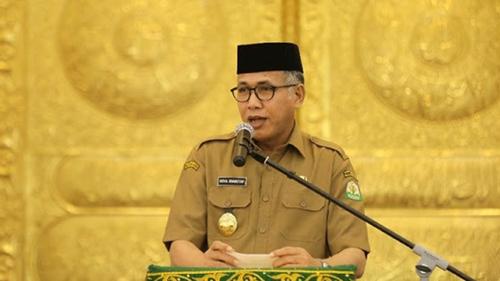 Gubernur Aceh Positif Covid-19, Presiden Diminta Tunjuk Pelaksana Tugas