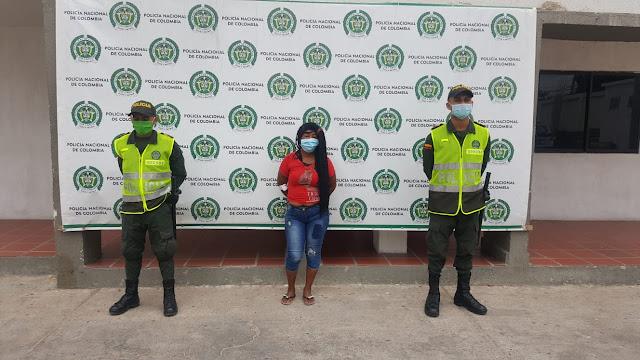 Arrestada mujer por apuñalar a otra en el mercado de Maicao
