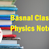 Basnal Classes Physics Notes PDF Download