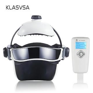 Klasvsa Electric Heating Neck Head Massage Air Pressure Vibration Music