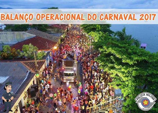 BALANÇO OPERACIONAL DO CARNAVAL 2017