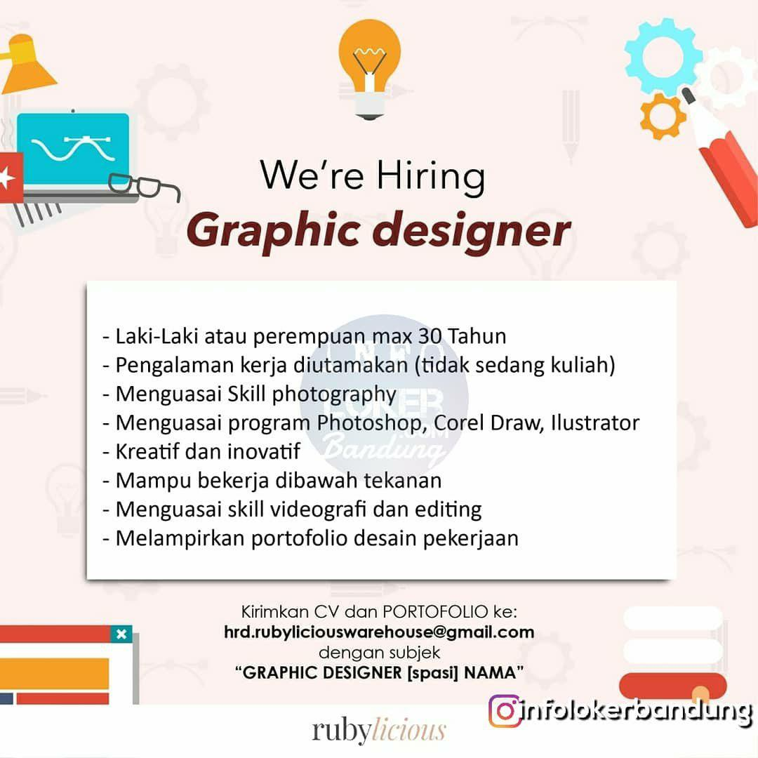 Lowongan Kerja Rubylicious Bandung September 2018