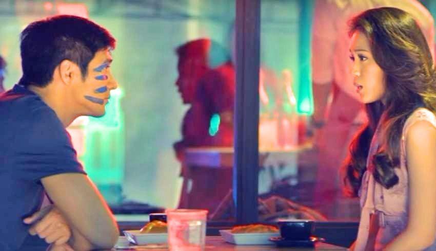 Piolo Pascual as Mark and Toni Gonzaga as Carmina in 'Last Night'