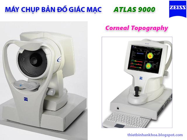 Máy chụp bản đồ giác mạc Atlas 9000 Zeiss