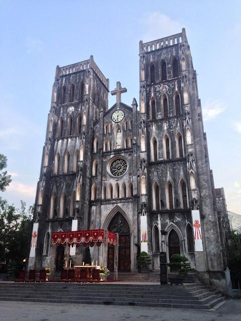 st. Joseph's Cathedral Hanoi Vietnam, Roman Catholic