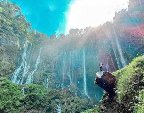 wisata air terjun lumajang jawa timur