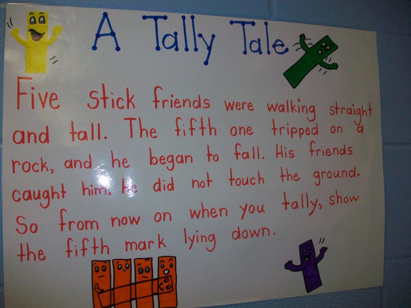 Tally Mark Poem