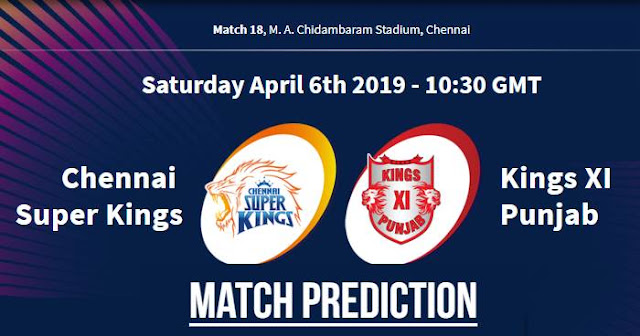 VIVO IPL 2019 Match 18 CSK vs KXIP Match Prediction, Probable Playing XI: Who Will Win?