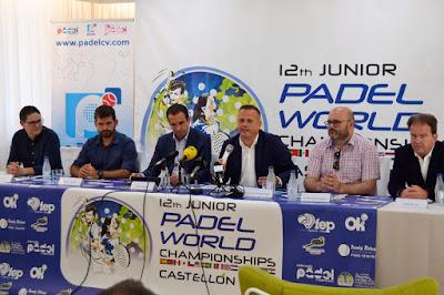 Se presenta oficialmente el XII Campeonato del mundo de pádel de menores Comunidad Valenciana 2019.
