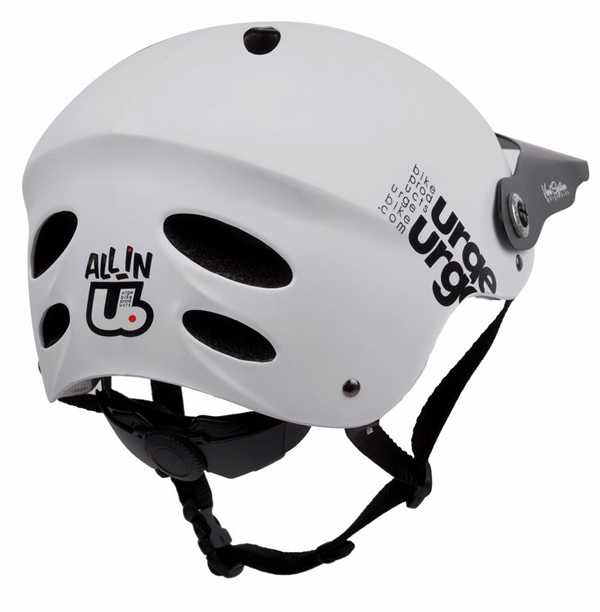 New All-In Helmet From Urge BP in Grey