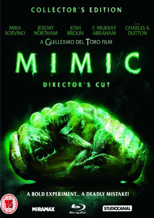 Poster of Mimic (1997) BRRip 480p Dual Audio 300Mb ESub (Director Cut)