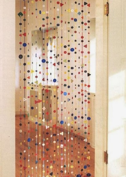 clear beaded curtains for doorways