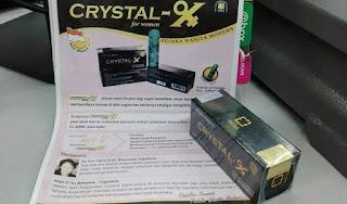 Dijamin Crystal X Original Nasa Untuk Organ Kewanitaan
