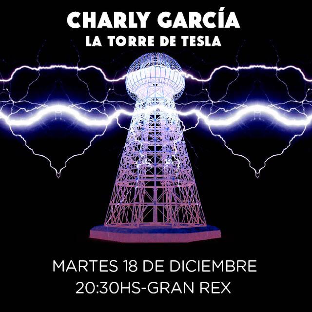 Charly García cierra el año este 18 de diciembre en el teatro Gran Rex