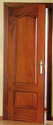 Fotos y dise os de puertas puerta dormitorio for Puertas de madera para habitaciones