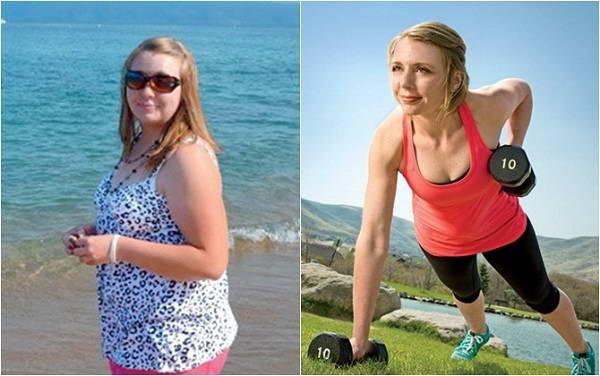 Giảm thành công 43 kg nhờ suy nghĩ khác biệt!