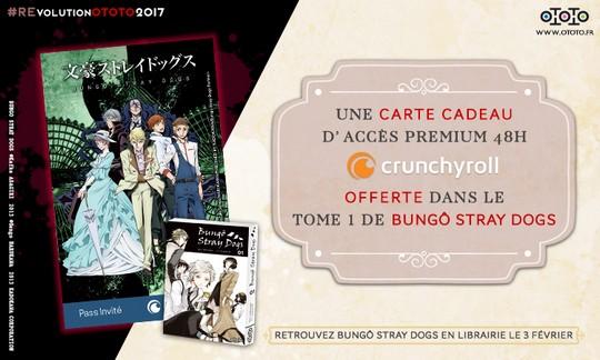 Actu Manga, Bungo Stray Dogs, Crunchyroll, Manga, Ototo,