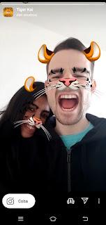 Tiger filter instagram || Cara dapatkan Filter Tiger instagram dan tiger filter snapchat
