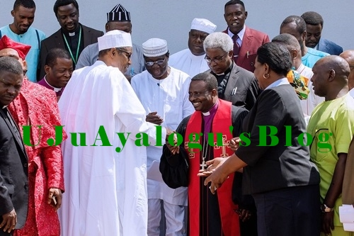 We Must Promote Our Religious Harmony - Buhari Says as He Hosts CAN Leaders in Aso Rock (Photos)
