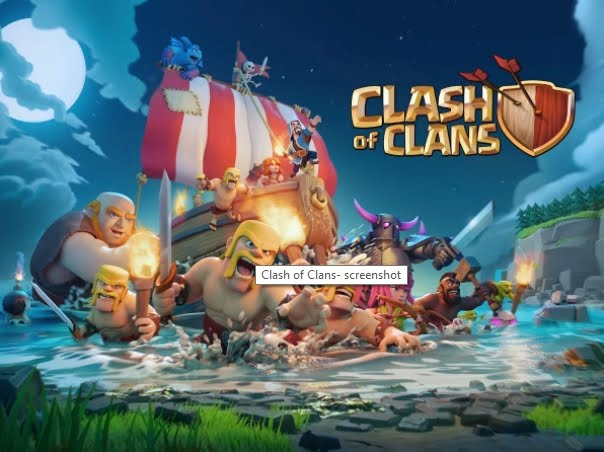 10 game android populer clash of clans