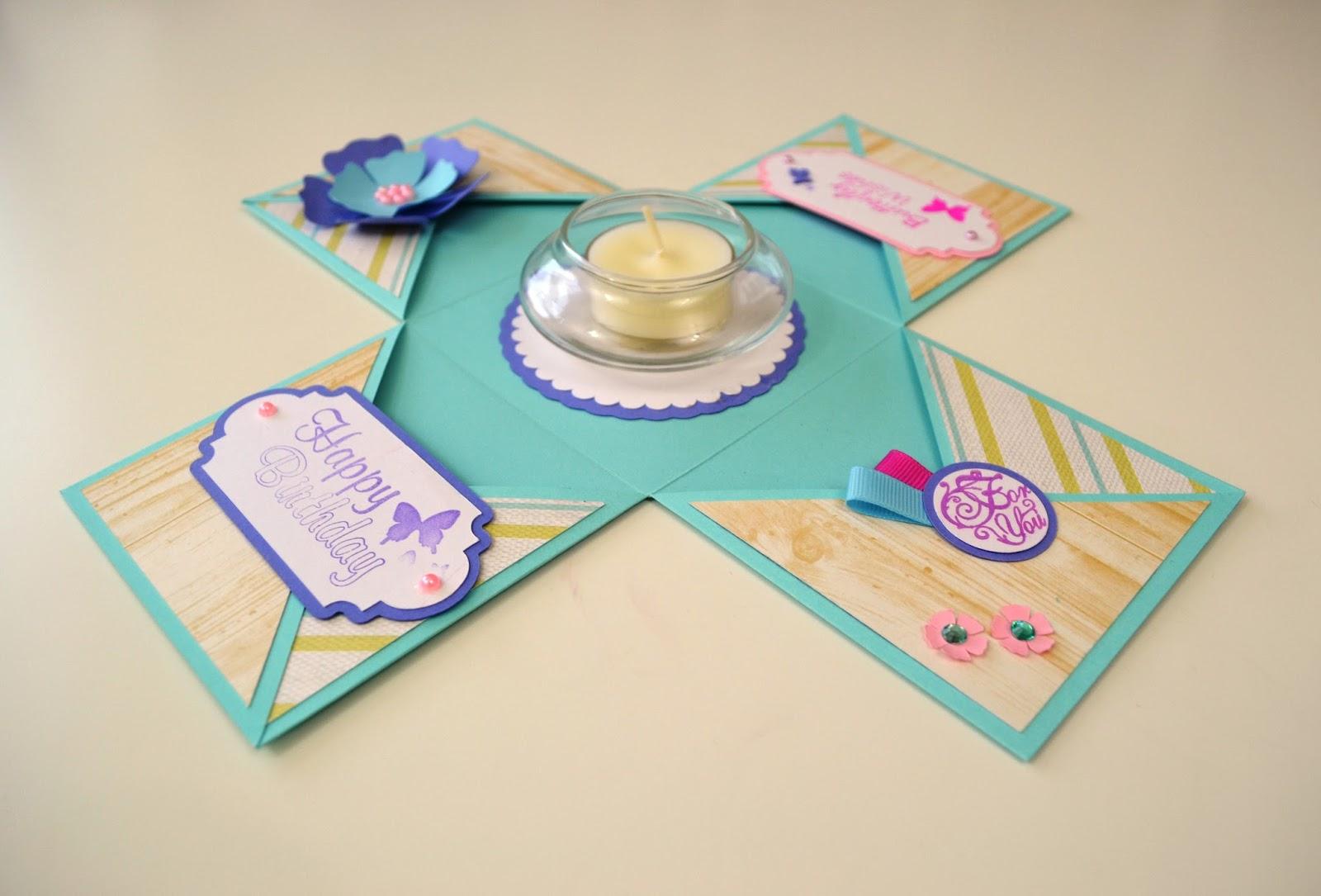 Giulia's Art - DIY Paper Crafts: New Exploding Box model ... - photo#44