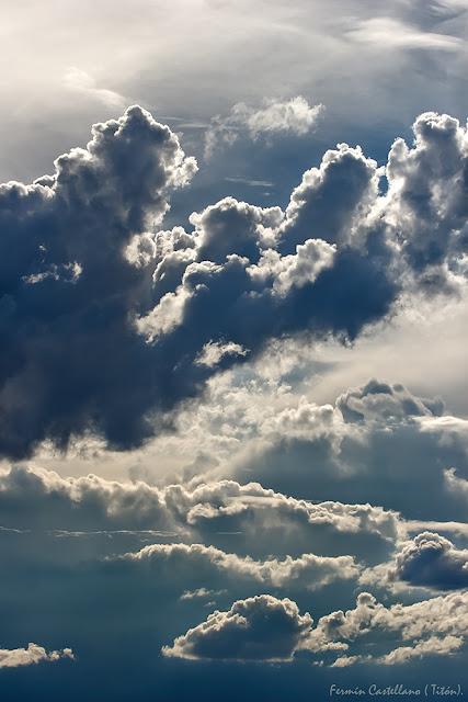 Cúmulos formados por la tormenta