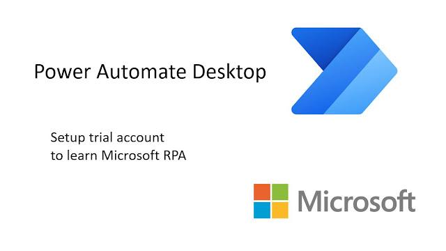 Power Automate Desktop free trial