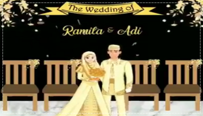 Wedding suite 110+ Template Video Undangan Pernikahan Kekenian PLR Licenci