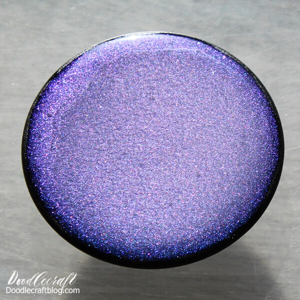 Enjoy this especially stunning finish as the color sparkles and shifts in the sunlight.