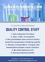 Karir Surabaya di PT. Delifru Utama Indonesia Juli 2020