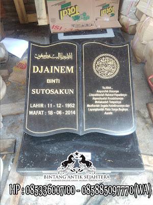 Nisan Granit Dan Marmer, Harga Nisan Granit, Batu Nisan Dari Granit