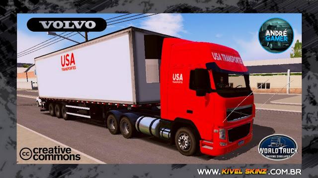VOLVO FH09 - USA TRANSPORTES