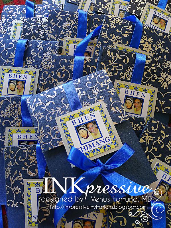 royal blue motif for wedding invitation : Cogimbo.us
