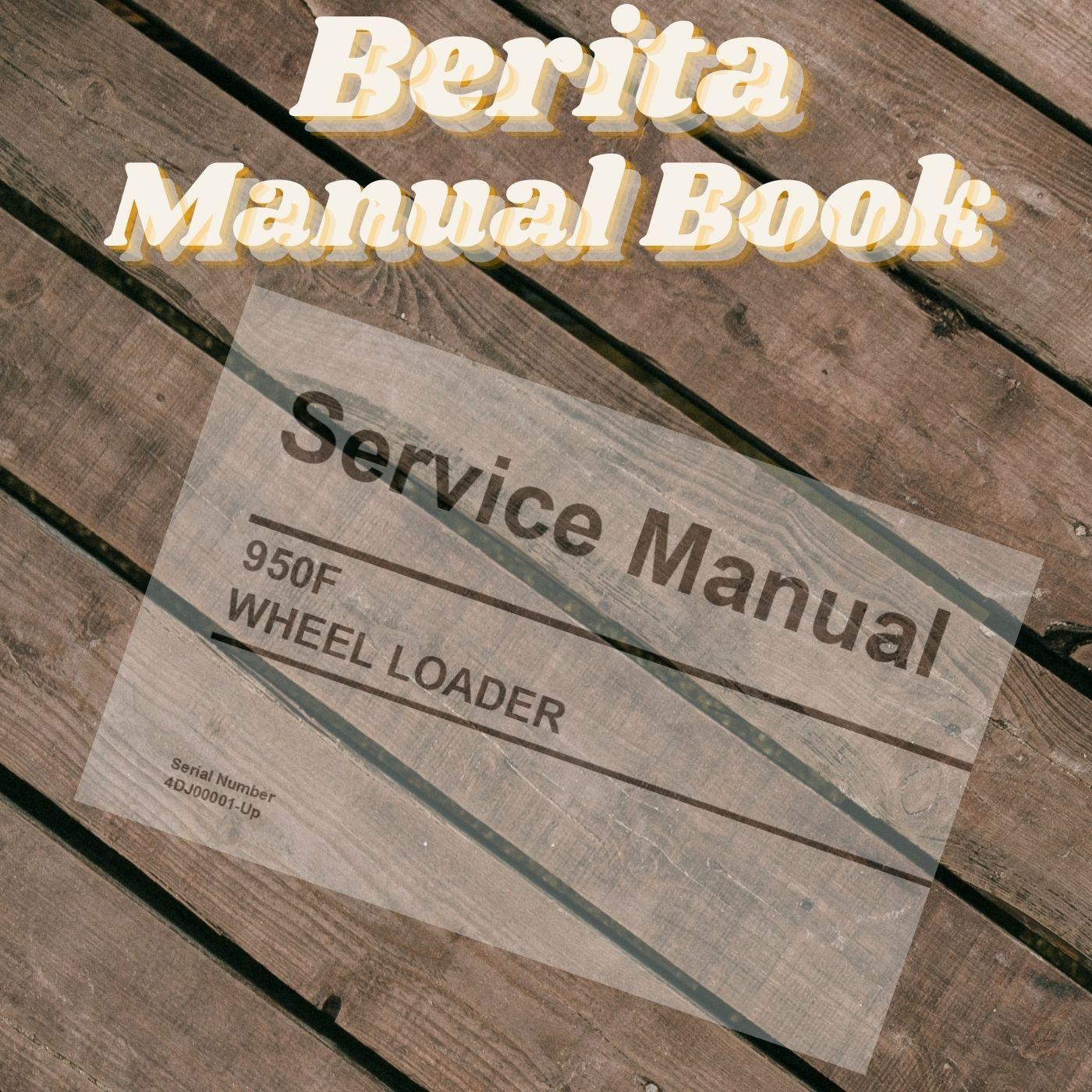 Cat 950F caterpillar wheel loader service manual