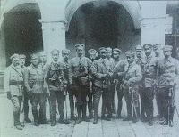 Sztab Komendy Głównej w Kielcach - 1914