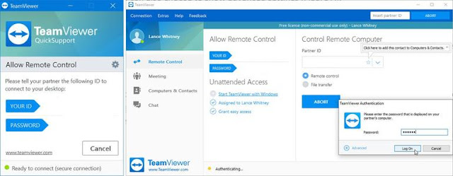 How to use teamviewer free