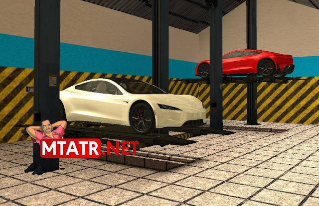MTASA Garage with Vehicle Lifts