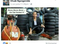 Santri Pembuat Meme Jokowi Menambal Ban Ditangkap, Latar Belakangnya Bikin Ngenes