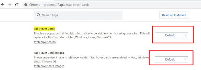 Hướng dẫn tắt Tab Hover