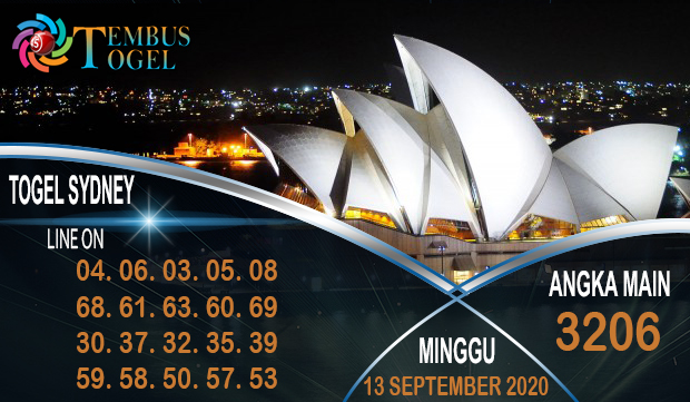 Angka Unik Togel Sidney Minggu 13 September 2020