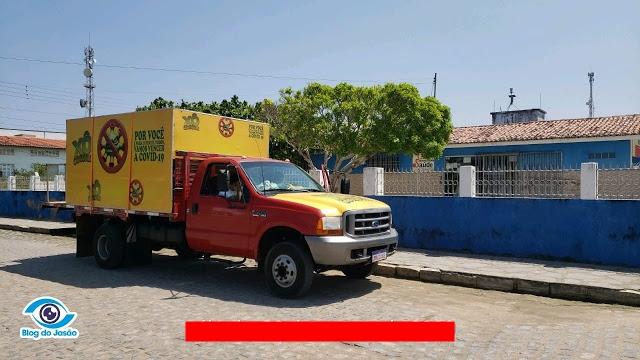 Prefeitura de João Câmara contrata carro pulverizador por R$ 90 mil reais,  para higienização e desinfecção dos prédios públicos