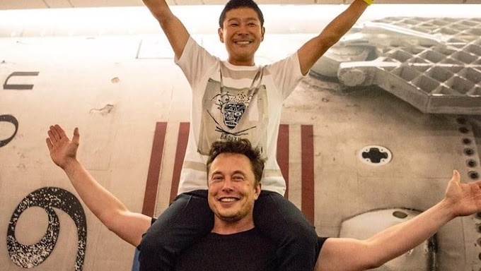 Jutawan Jepun mahu menjemput 8 orang untuk pergi ke bulan dengan roket SpaceX