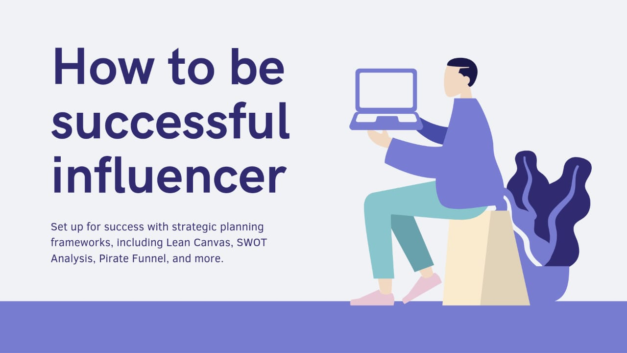 How to be a successful influencer 🔥 🤓