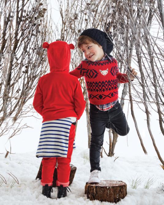 Moda nenes y nenas invierno 2017. Ropa para niños 2017.