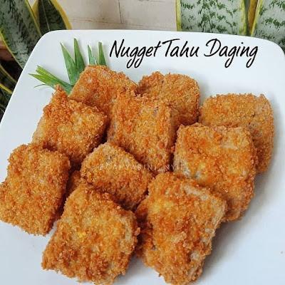 Olahan Tahu - Nugget Tahu Daging